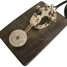 Antique Style Morse Code Foot Switch